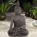John Timberland Asian Zen Buddha Indoor Outdoor Statue 42' High Sitting for Yard Garden Patio Deck Home Entryway Hallway