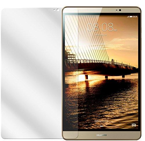 dipos I 2X Schutzfolie klar kompatibel mit Huawei Mediapad M2 8.0 Folie Bildschirmschutzfolie