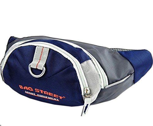 Custodia da cintura per kitesurf marsupio Bag Street denaro cintura borsa borse a tracolla blu Fa, Bowatex