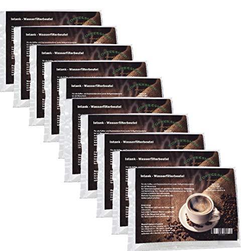 coffeeshop-oberpfalz 10 Intank Wasserfilterbeutel Granulat kompatibel zu Kehl