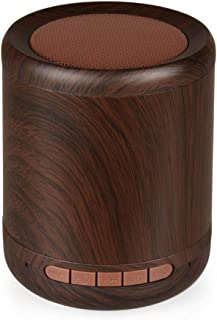 Huphoon Speakers Wood Bluetooth Speaker Wireless Speaker Portable Indoor&Outdoor Supported TF Card AUX Playing Hands Free Call Function