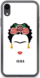 iPhone XR Pure Clear Case Cases Cover Frida Khalo face