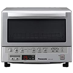 Double Infrared Heating High Efficiency Quartz and Ceramic Infrared Heating Elements are positioned in the front and back to evenly toast, bake, brown and reheat to perfection Precise temperature control easily bake piping hot fresh breads and prepar...