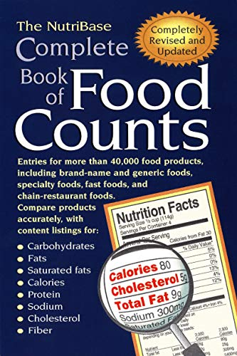 Compare Textbook Prices for The NutriBase Complete Book of Food Counts Revised, Updated Edition ISBN 9781583331071 by NutriBase