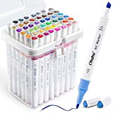 Ohuhu Markers, 48-color Double Tipped Alcohol...