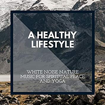 A Healthy Lifestyle - White Noise Nature Music for Spiritual Peace and Yoga