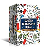World Geography Card Game - Fun Educational Board Game for Kids, Teens, Adults, Family & Homeschool