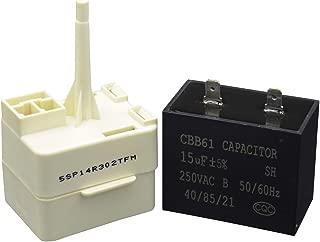 Best lg refrigerator compressor start relay Reviews