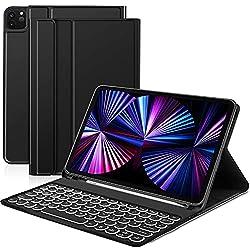 &#9658 &#60 iPad Pro 11 Clavier&#62 – Cette coque est compatible avec l'iPad Pro 11 2021/2020/2018 & iPad Air 4. La coque est fabriquée en matériau TPU qui est plus doux et plus durable que le plastique. Vous pouvez facilement mettre et sortir votre ...