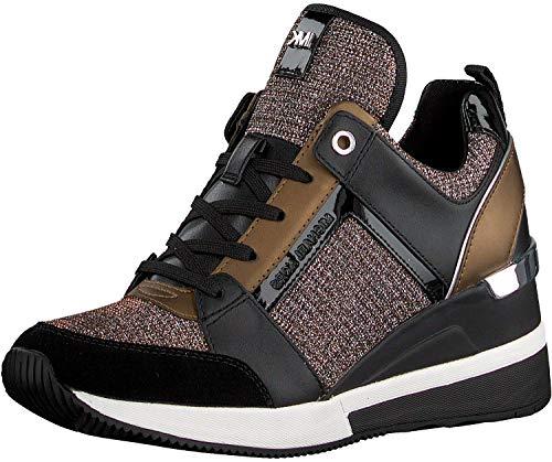 Michael Michael Kors Frauen Fashion Sneaker Schwarz Groesse 8 US /39 EU
