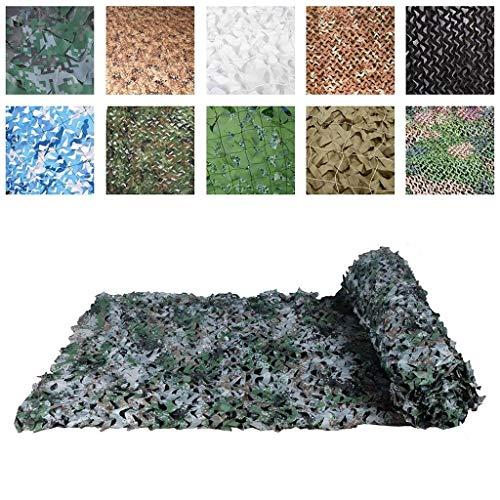 Parasols Extérieurs à La Filet De Camouflage Filet De Camouflage, Tente Verte pour Filet De Protection Solaire, Convient À La Décoration De Jardin pour Enfants, 2 × 3 M (Size : 6 * 6M(19.7 * 19.7ft))