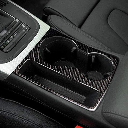 NBPLUS Adhesivo decorativo de fibra de carbono para Audi A5 A4 B8 2009 – 2015