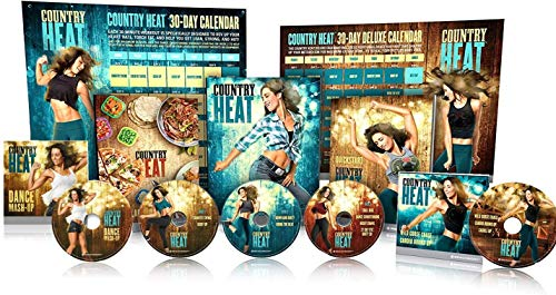 Allem Counitry Heait Dance & Fitness DVD-Combining Diet and Exercise 5 DVD Base Kit