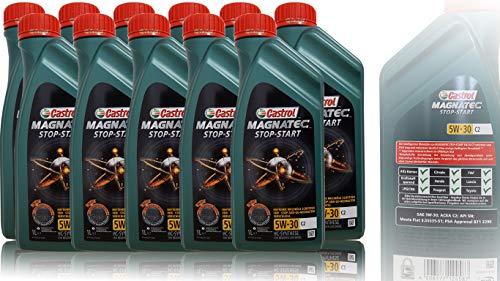 Castrol Magnatec 5W-30 - Motorolie 11L: 11x1L