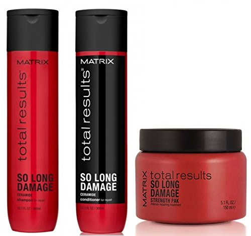 MATRIX TOTAL RESULTS So Long Damage Shampoo 300ml + Balsamo 300ml + Mask 150ml