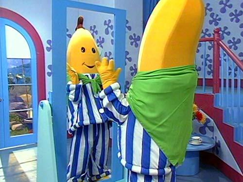 Monster Bananas; Circus Time; Wash Day; Mirror Mirror