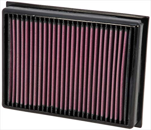 K&N 33-2957 Filtre à Air du Moteur: Haute Performance, Premium, Lavable, Filtre de Remplacement, Plus de Pouvoir, 2004-2013 (C4 Picasso, Grand C4 Picasso, C4, C4 Cross, 307)