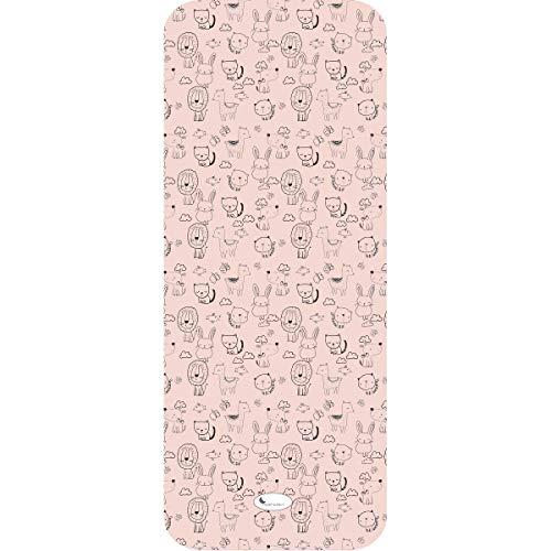 Colchoneta Transpirable Silla paseo universal verano Animalitos Rosa - mibebestore
