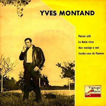 "Vintage French Song Nº4 - EPs Collectors ""Planter Café"""