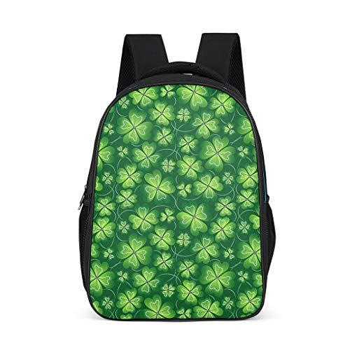 O2ECH-8 rugzak Man St Patrick's Day dagrugzak outdoor, rugzakken kinderen - rugzakken voor meisjes schoolrugzak ergonomisch
