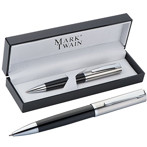 Edler Metall - Kugelschreiber HAMBURG, Mit oder ohne Gravur:ohne Gravur