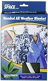 Grabber - The Original Space Brand Sportsman's Hooded Blanket/Poncho - Olive
