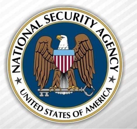 Adesivo De Parede Decorativo - National Security Agency - Medida 60 cm x 60 cm