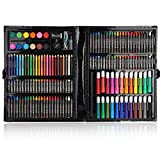 SALUTUYA Conjuntos de Dibujo artístico para Artistas, Conjuntos de Arte para niños, niñas, niños, Regalos de cumpleaños, Estuche de lápices de Colores
