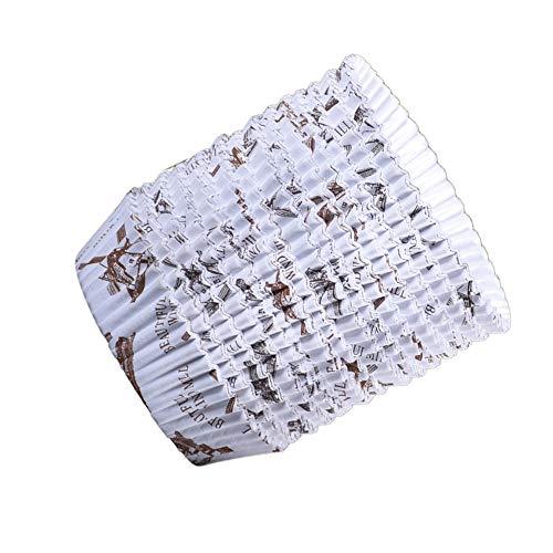 XJF 300 tazas de papel para tartas para cupcakes, tazas desechables para hornear, envoltorios para repostería en el hogar y cafetería