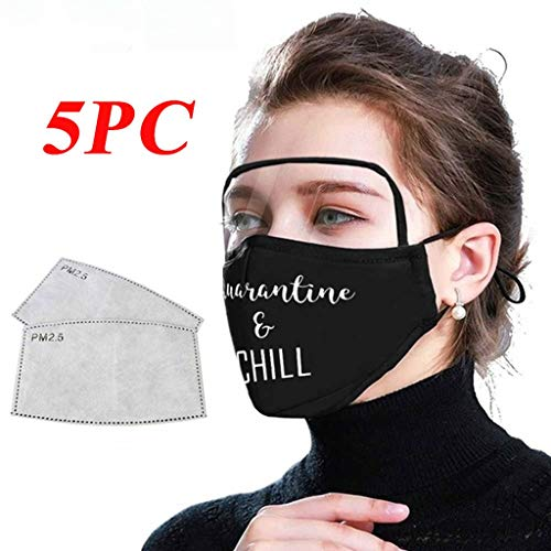 For Sale! Adults Reusable Face Bandanas with Activated Carbon Filter Breathing Valve Mouth Nose Cove...