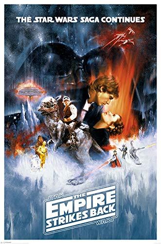 Star Wars The Empire Strikes Back Unisex Poster Multicolore Carta 61 x 91,5 cm