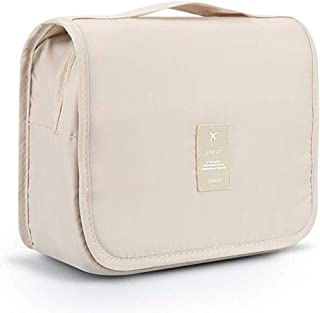FLORICA Hanging Toiletry Bag Large Cosmetic Makeup Bag Travel Storage Organizer for Men Women with Sturdy Hook