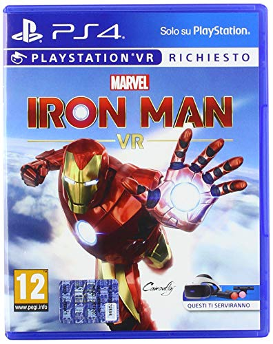 Marvel's Iron Man VR - PlayStation 4, Standard