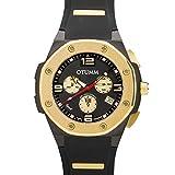 Otumm Speed Negro 45mm Unisex Chronograph Reloj