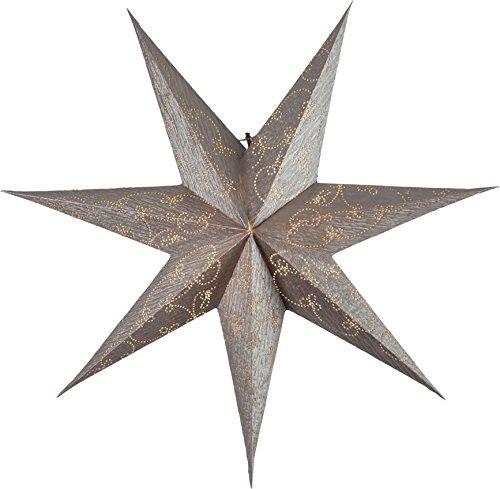 Star 501-18 Decorus Etoile de papier, Or, 1.5 x 6.3 x 6.3 cm
