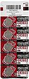 Maxell CR2032 - Pilas de botón (Litio, 3 V, 2 Paquetes de 5 Unidades)