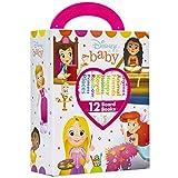 Disney Baby Princess - My First Library Board Book Block 12 Book Set - PI Kids