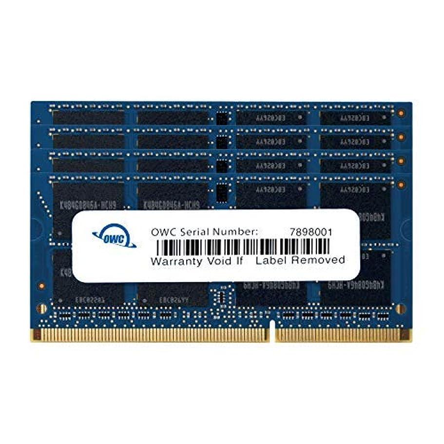 お酒リットルセッティングOWC PC3-12800 DDR3L 1600MHz SO-DIMM 204 Pin CL11 メモリーアップグレードキット iMac、Mac mini、MacBook Pro用 48GB (2x16GB + 2x8GB) 1600DDR3S48S