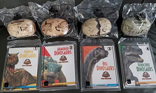 McDonalds 2020 Jurassic World - Complete Set of 8