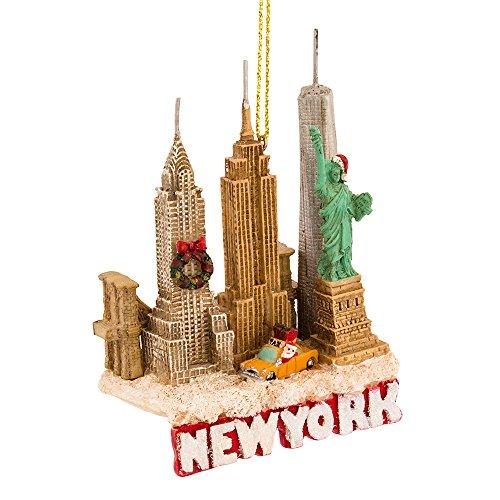 Kurt Adler 3.75 Inches Tall City Travel New York City Ornament
