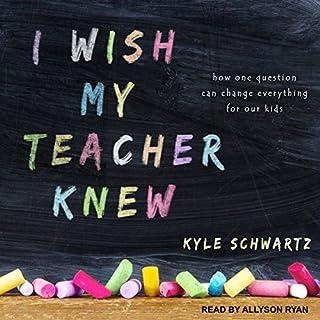 I Wish My Teacher Knew audiobook cover art