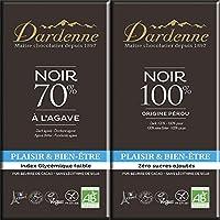 [2枚] ダーデン 有機チョコレート お試し2種アソート (100%、70%)各70g×各1枚