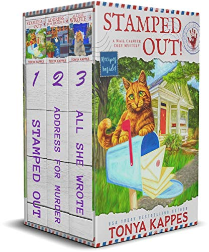 A Mail Carrier Cozy Mystery Books 1 - 3