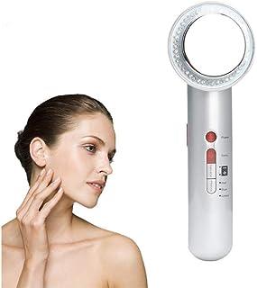 YMJJ Body Massager Adelgazante, 7 en 1 EMS Galvanic Photon Arrugas Quitar la Piel Rejuvenecimiento Beauty Cellulite Firming Machine, con Guantes