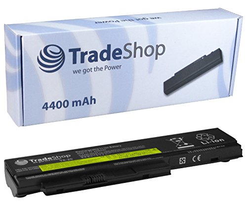 Trade-Shop High-Performance Laptop Battery 4400mAh for IBM Lenovo ThinkPad X 220, 220i, 220S, X220X220; X220–PLUG, also Replaces the following batteries: FRU 42T494042T4868, 42T4901, 42T4902