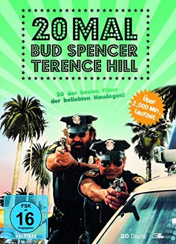 20 Mal Bud Spencer & Terence Hill - Box [20 DVDs]