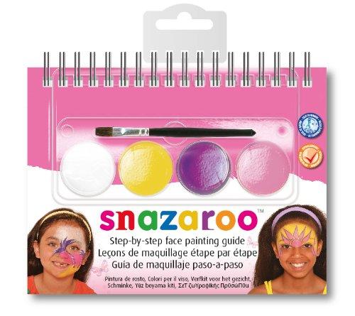 Snazaroo - 766416125514 - Maquillage - Mini Kit - Livret Été