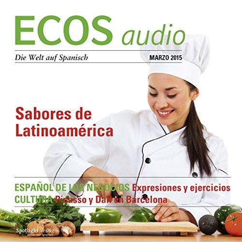 ECOS audio - Sabores de Latinoamérica. 2/2015 Titelbild