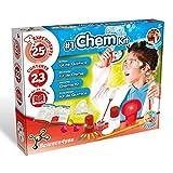 Science4You - 1# Kit di Chimica, Giocattolo Educativo, Laboratorio di Chimica, 25 Esperimenti Scientifici per Bambini di età 8 9 10 Anni