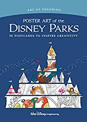 art of disney coloring postcards